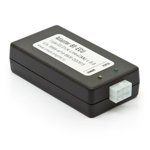 Bluetooth адаптер BT ECU K Line+CAN для диагностики автомобиля Check Engine + Кабель OBD II