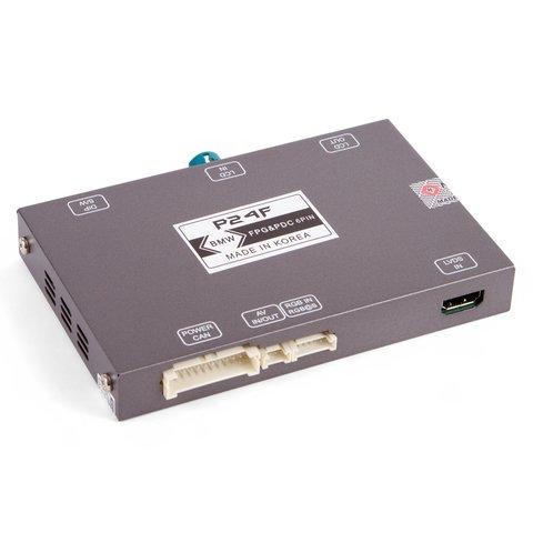 Адаптер подключения камеры переднего вида для BMW с системой CIC- HIGH(NBT)