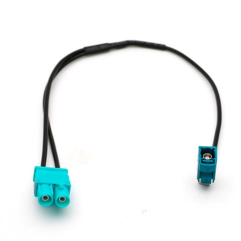 Adapter for Connecting Single Male FAKRA Radio Antenna in Volkswagen RCD510