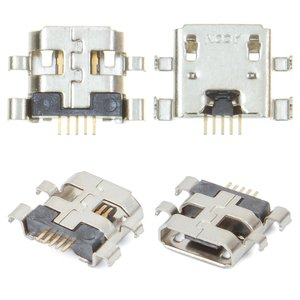 Charge Connector for Asus Nexus 7 google Tablet, (5 pin, micro USB type-B)