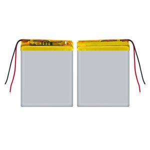 Battery, (60 mm, 46 mm, 3.8 mm, Li-ion, 3.7 V, 1100 mAh)