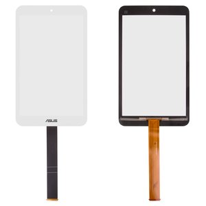 Touchscreen for Asus MeMO Pad 8 ME181C, MeMO Pad 8 ME181CX Tablets, (white)