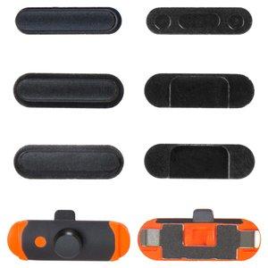 Cubiertas de teclas laterales para tablet PC Apple iPad Mini 2 Retina, juego completo, negro