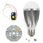 Juego de piezas para armar lámpara LED regulable SQ-Q03 5730 7 W (luz blanca cálida, E27)