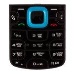 Клавиатура для Nokia 5320, синяя, русская