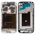 Рамка крепления дисплея Samsung I9505 Galaxy S4, серебристая