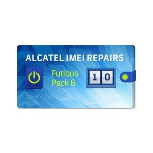 Furious Pack 6 10 Восстановлений IMEI для Alcatel