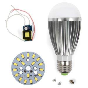 Комплект для збирання світлодіодної лампи SQ-Q03 9 Вт (холодний білий, E27)