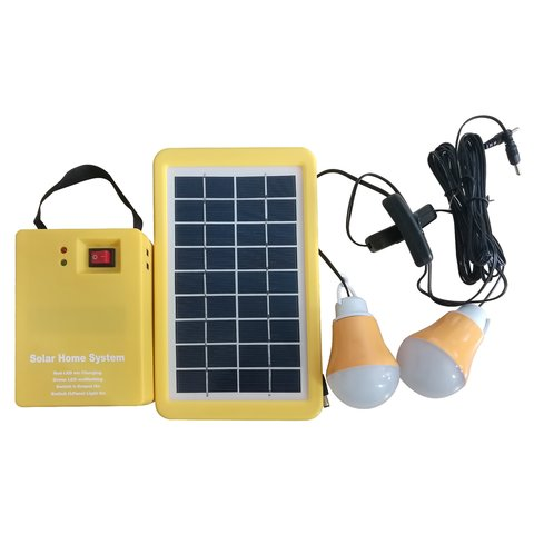 Портативна сонячна електростанція DC 3 Вт, 12 В 3 Аг, Poly 18 В 3 Вт