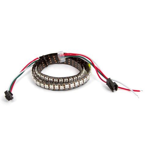 Світлодіодна стрічка RGB SMD5050, WS2812B з управлінням, IP20, 144 діодів м, 5 м