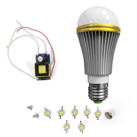 Комплект для збирання світлодіодної лампи SQ Q52 7 Вт теплий білий, E27