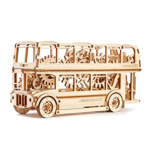 Rompecabezas mecánico 3D Wooden.City