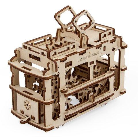 Механічний 3D-пазл UGEARS Трамвайчик