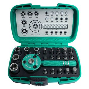 Interchangeable Socket and Bit Set Pro'sKit SD-2319M